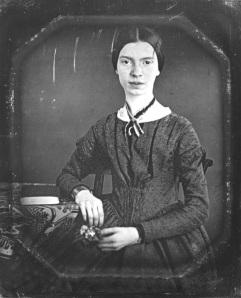 Emily Dickenson daguerreotype portrait