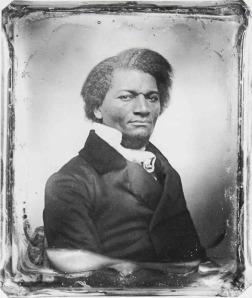 Frederick Douglas daguerreotype portrait