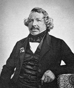 Louis Daguerre, 1844 photographer Jean-Baptiste Sabatier-Biot