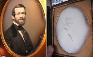 The effect of viewing angle on daguerreotype