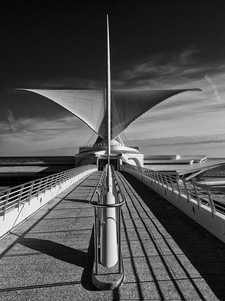 """Wings to Art"" Milwaukee Museum of Art, Nov 15, 2013"