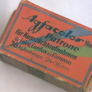 Box of Agfacolor Nue