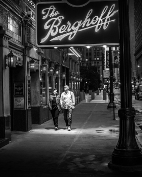 Night Stroll by Berghoff's