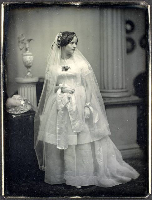 Figure 2:  Unidentified bride, Southworth & Hawes, George Eastman House