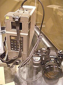 Figure 6:  Kodak DCS 100 with Digital Storage Unit (DSU)