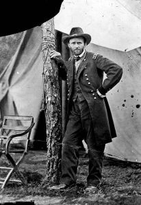 Figure 8: General Ulysses S. Grant, Cold Harbor, VA, 1864, Mathew Brady