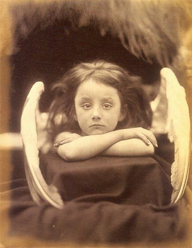 "Figure 12:  ""I Wait"", (Rachel Gurney), 1872, Julia Margaret Cameron, J. Paul Getty Museum"