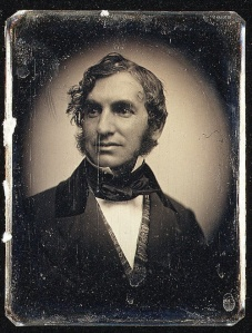 Figure 6:  Henry Wadworth Longfellow, c1850, Southworth & Hawes, Metropolitan Museum of Art, NY