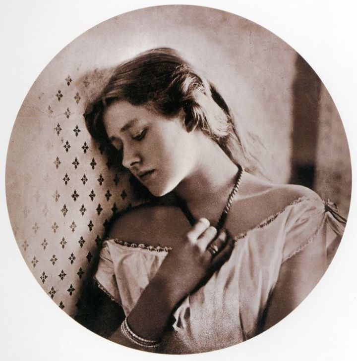 "Figure 10:  ""Sadness"", (Ellen Terry), 1864, Julia Margaret Cameron, J. Paul Getty Museum"