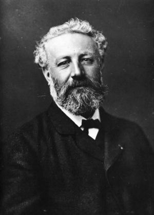Figure 13:  Jules Verne, c1878, Felix Nadar, public domain