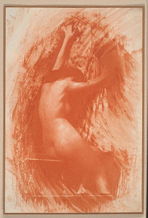 "Figure 4: ""Struggle"", Robert Demachy, 1903"