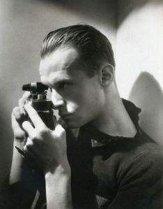 Henri Cartier-Bresson with Leica, by George Hoyningen-Huene, 1933