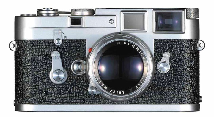 Figure x: Leica M3, introduced in 1954