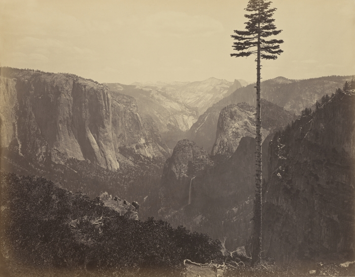 Figure 1:  Yosemite Valley from the