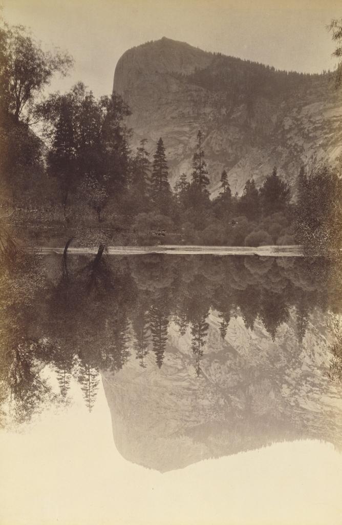 Figure 7:  Mount Watkins, Yosemite, 1872, by Carleton Watkins, from the J. Paul Getty Museum