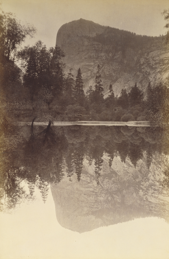 Figure 7:  Mount Watkins, Yosemite, 1872, by Carleton Watkins, from the J. Paul Getty Museum
