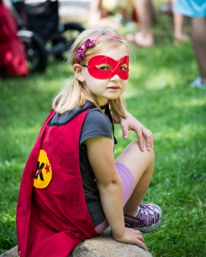 Superhero, Grayslake Memorial Day Parade, 2016
