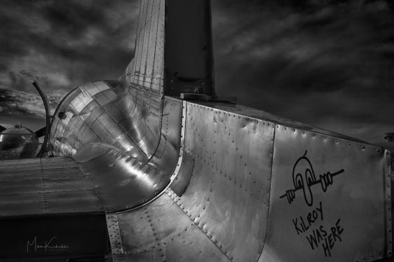 """Kilroy was Here"" Douglas C-47/DC-3 at Oshkosh 2017"
