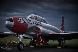 Lockheed T-33 Shooting Star, Fuji XT-1, ISO 800, 1/105 sec at f4.5