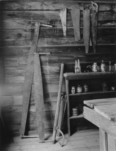 Saws, Garnet Ghost Town, Montana