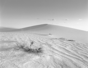 White Sands at Sunset, demonstration print by Nathan from my negative.